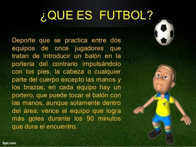 El futbol for El gimnasio es un deporte