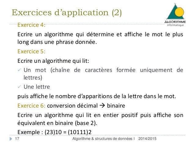 Algorithmes et structures de données avancés - ppt video ...