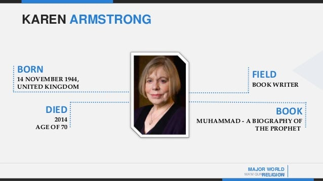 muhammad a biography of the prophet by karen armstrong pdf