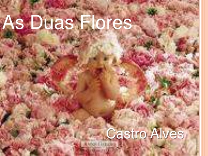 As Duas Flores<br />Castro Alves<br />