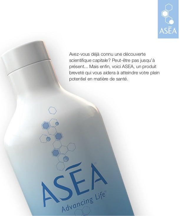 Avez-vous déjà connu une découverte scientifique capitale? Peut-être pas jusqu'à présent... Mais enfin, voici ASEA, un pro...