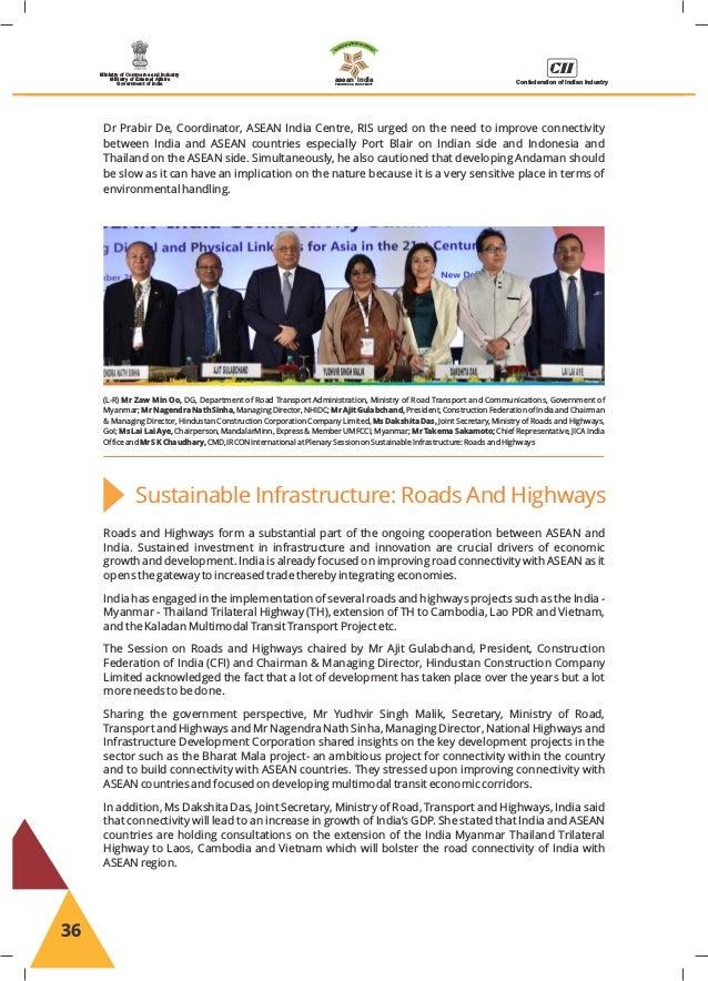 ASEAN-INDIA Initiatives 2017-18