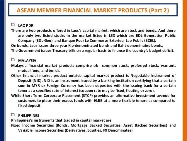 Asean 3 capital market swot analysis for Banque pour le commerce exterieur lao public