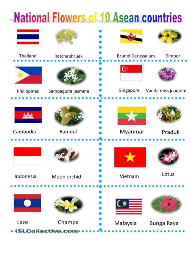 Thailand Ratchaphruek     aglíhvgi'  .  ^- .  6 435135( , I i,  __.  '  4  Philippines Sampaguita jasmine  Cambodia Ramdul...