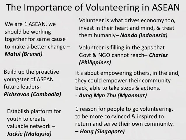 importance of asean Asean's 10 member states are working together to promote stability and  economic growth in the  how important is the region economically.