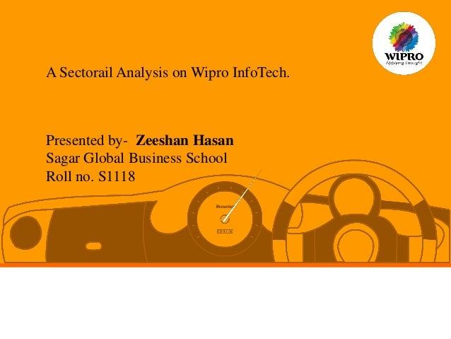 Wipro Ltd. Company Financial Ratios Analysis