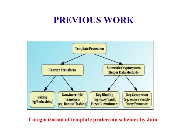 ProBiTe, Protection of Biometric Templates