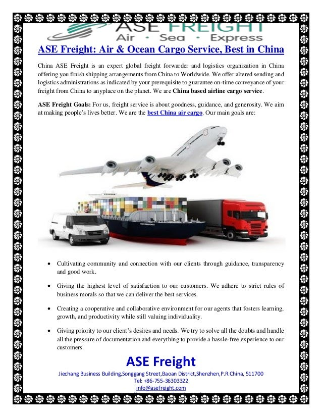 Ase freight air &