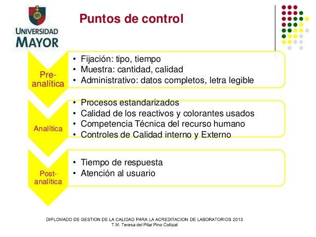 Aseguramiento de la calidad. Anatomía Patológica (TP)