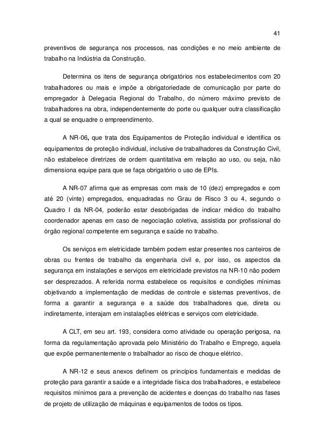A segurança do trabalho em obras de pequeno porte no município de par… 79bfc85d15