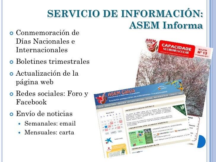 SERVICIO DE INFORMACIÓN:                           ASEM Informa   Conmemoración de    Días Nacionales e    Internacionale...