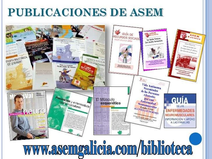PUBLICACIONES DE ASEM