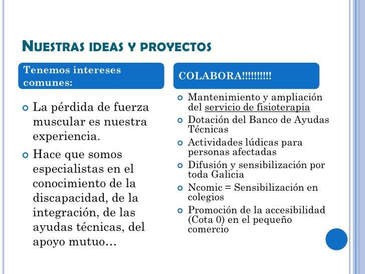 NUESTRAS IDEAS Y PROYECTOSTenemos intereses                         COLABORA!!!!!!!!!!comunes:                           ...