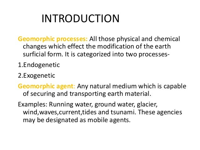 Wind is an important agent of transport and deposition Essay