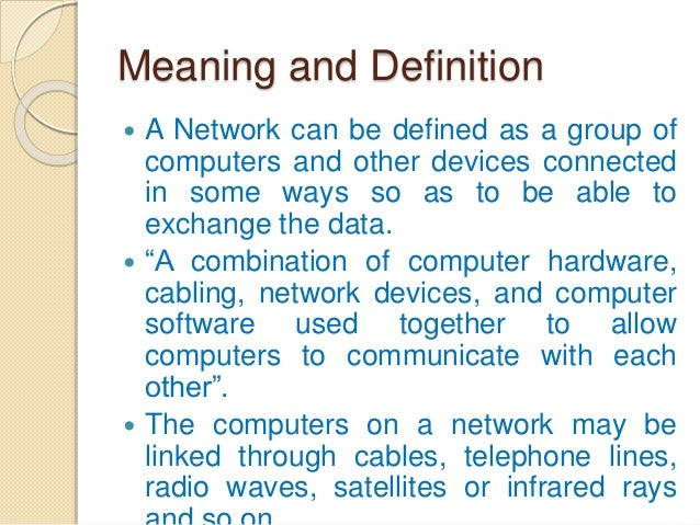 LAN (Local Area Network) Definition