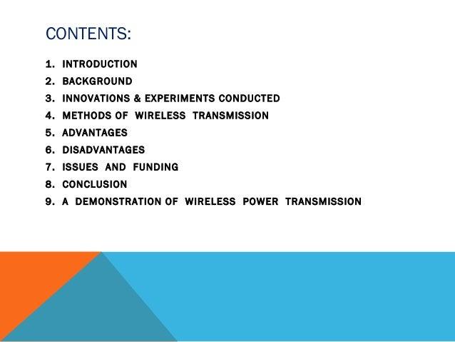 A seminar on wireless power transmission latest