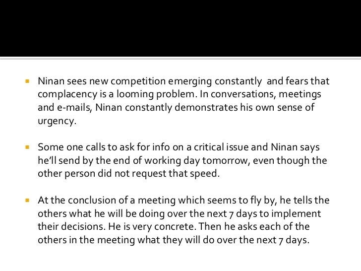 Recognize the pervasive problem of internal focus.<br />Past successes.<br />Listen to customer-interfacing employees.<br ...