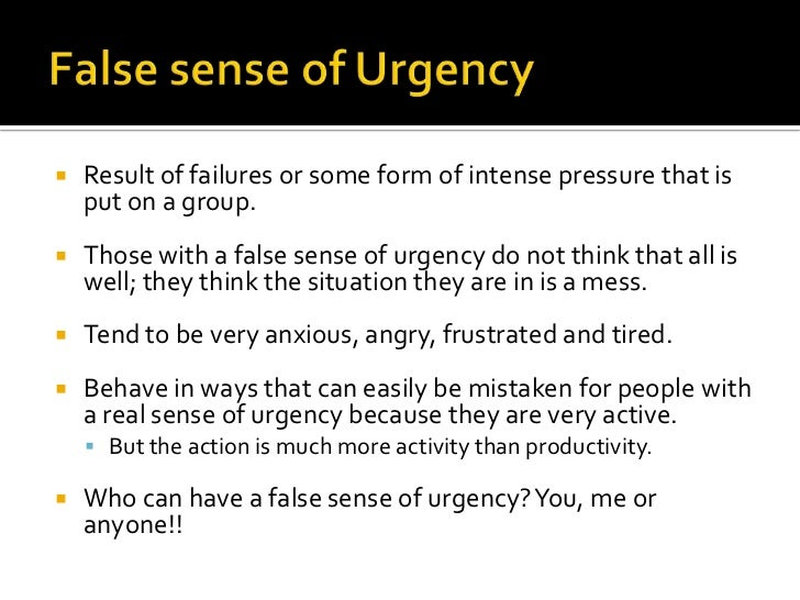 sense of urgency kotter A sense of urgency - ebook written by john p kotter read this book using google play books app on your pc, android, ios devices download for offline reading, highlight, bookmark or take.
