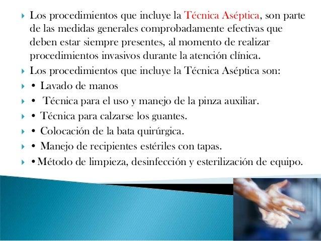 Asepsia y lavado de manos 1 Metodos de limpieza y desinfeccion en el area de cocina