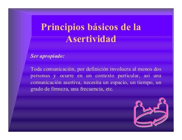 Asertividad:IAFJSR Asertividad Definicion