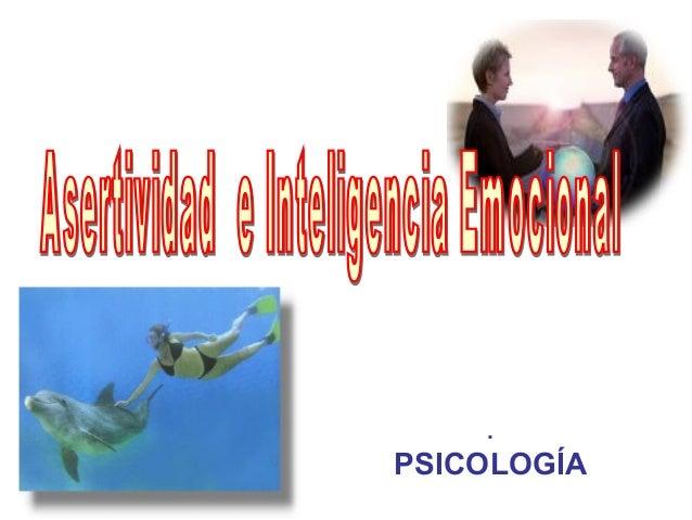 . PSICOLOGÍA