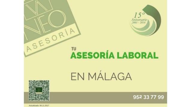 Asesoría laboral en Málaga | ASESORÍA NEO