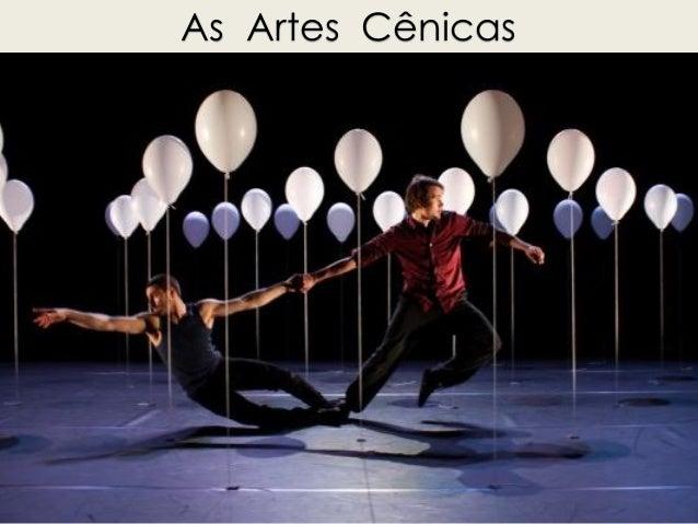 As Artes Cênicas
