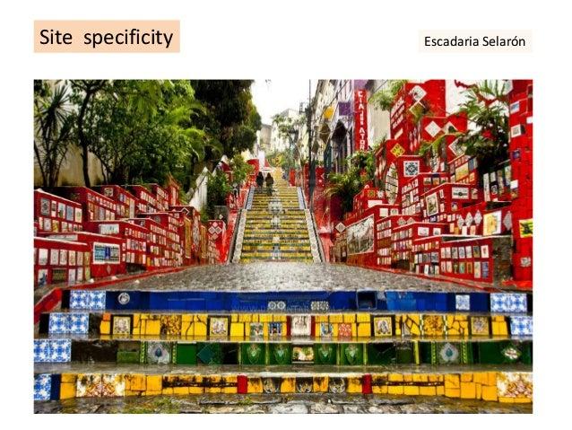 Site specificity Escadaria Selarón