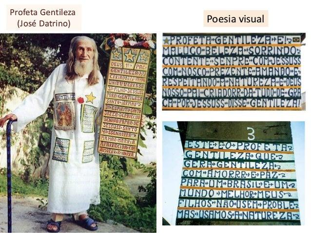 Poesia visual Profeta Gentileza (José Datrino)