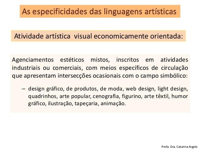 Agenciamentos estéticos mistos, inscritos em atividades industriais ou comerciais, com meios específicos de circulação que...