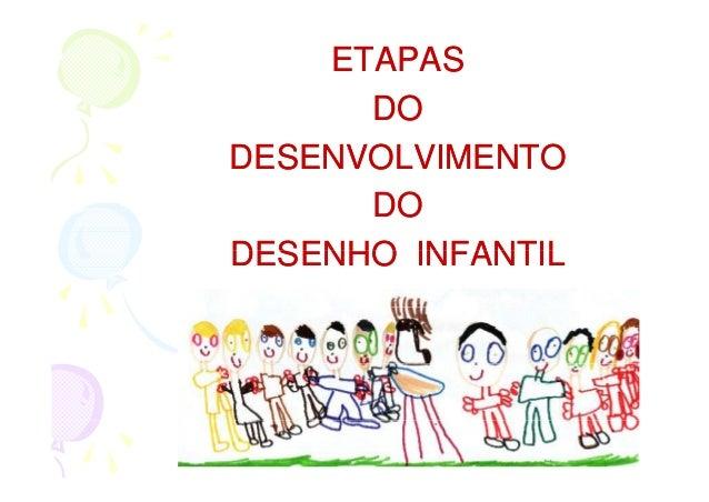 ETAPAS      DODESENVOLVIMENTO      DODESENHO INFANTIL