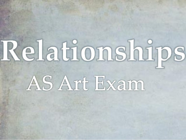 There are many different meanings for the word Relationship and how it can be interpreted in Art.