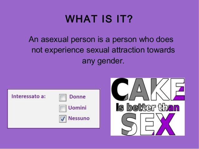 What is a asexual person