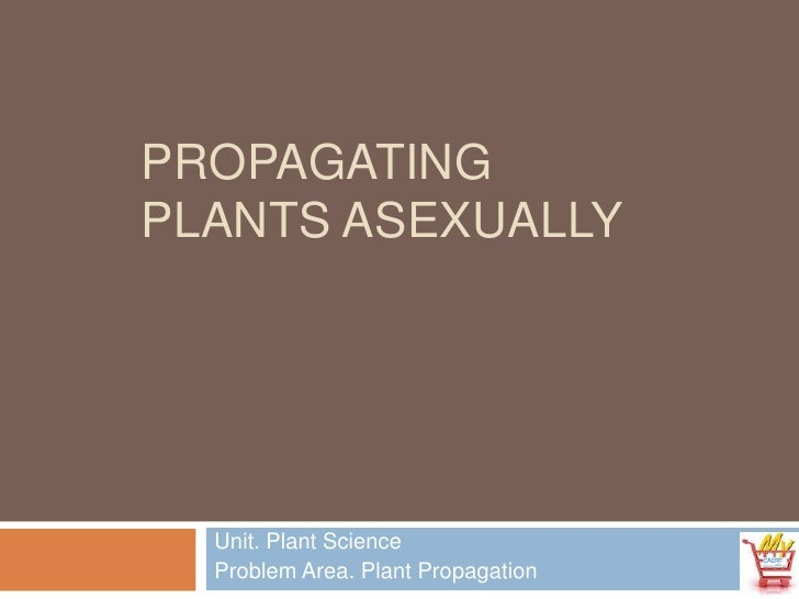 Propagating Plants Asexually<br />Unit. Plant Science<br />Problem Area. Plant Propagation<br />