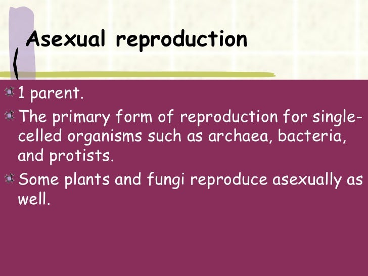 Asexual and sexual reproduction similarities and differences between buddhism