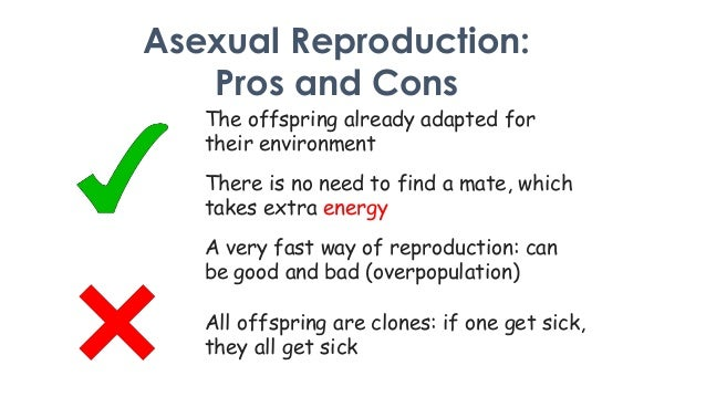 Asexual reproduction benefit