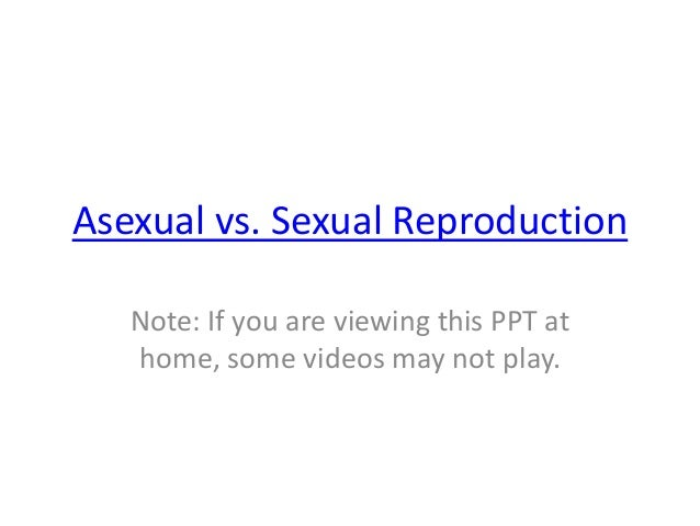 Asexual vs sexual reproduction advantages and disadvantages