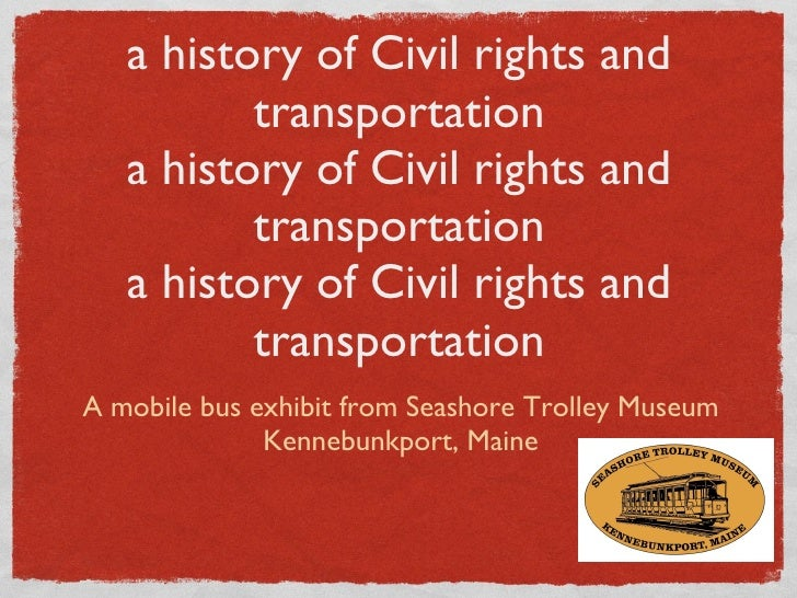 A Seat for everyone:  a history of Civil rights and transportation a history of Civil rights and transportation a history ...