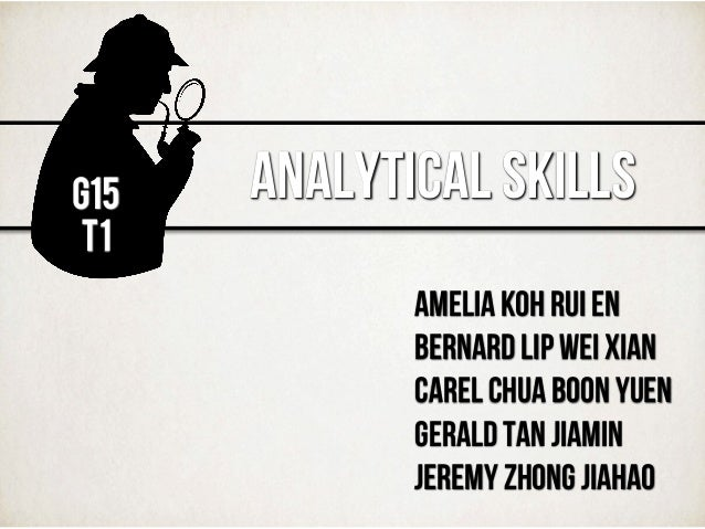 what are analytical skills and how to improve them