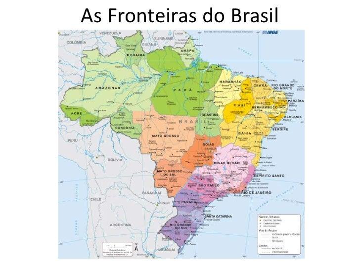 As Fronteiras do Brasil