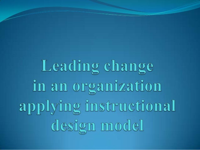 """Instructional Models The Instructional Design process is a """"systems""""approach. The ID process is expressed as a linear mo..."""