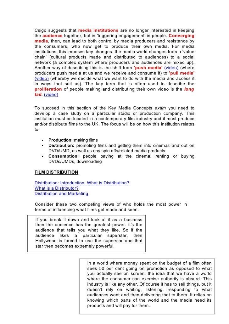 g322 film industry case study