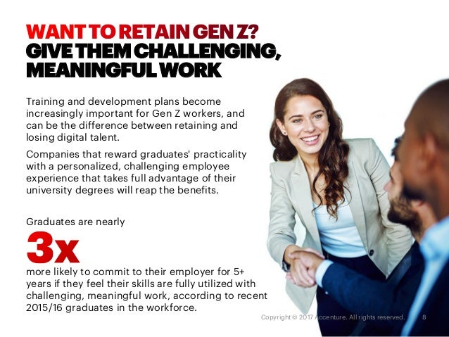 MAKE IT MEANINGFUL Match each employee's total rewards to the value system of the new generation. Show each employee how h...