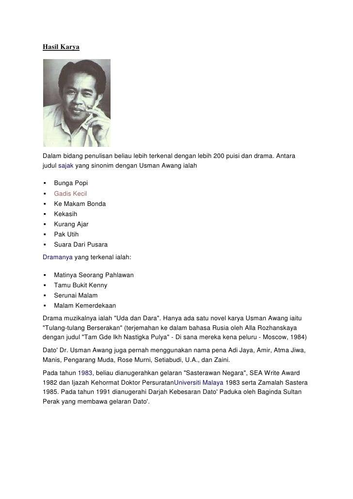 Asgmnt Kesusasteraan Melayu