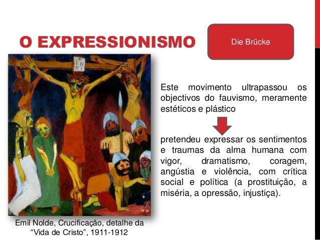 Obras de forte pendor social,criticando o mundo moderno –daí que as figuras expressemos sentimentos humanos comvigor, dram...