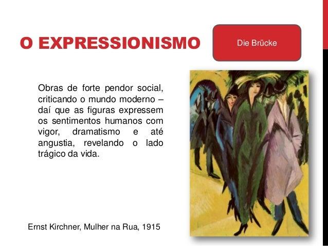 Obras de forte pendor social, criticandoo mundo moderno – daí que as figurasexpressem os sentimentos humanoscom vigor, dra...