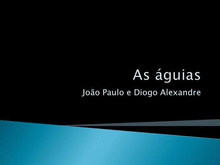 As águias<br />João Paulo e Diogo Alexandre<br />