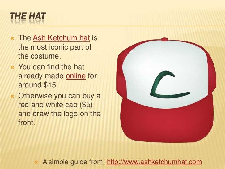 How to make a ash ketchum costume 4 the hat the ash ketchum solutioingenieria Images