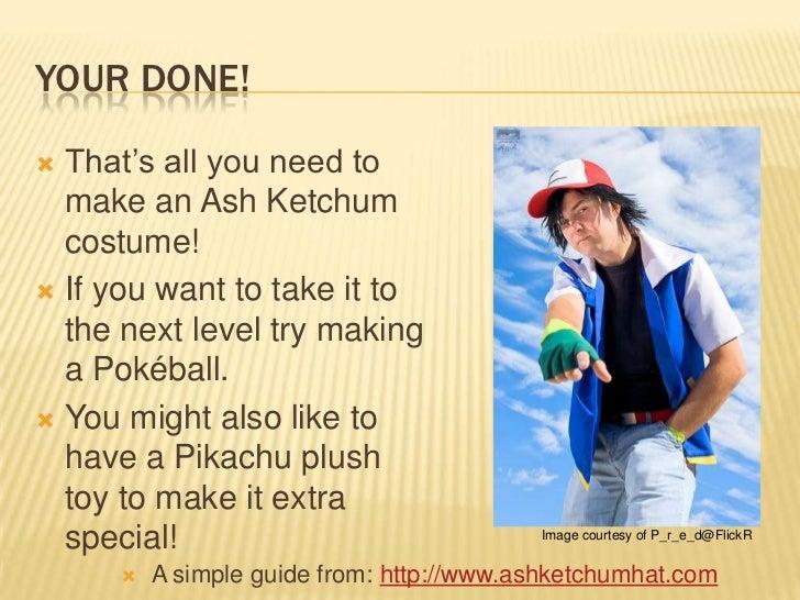 How to make a ash ketchum costume solutioingenieria Images