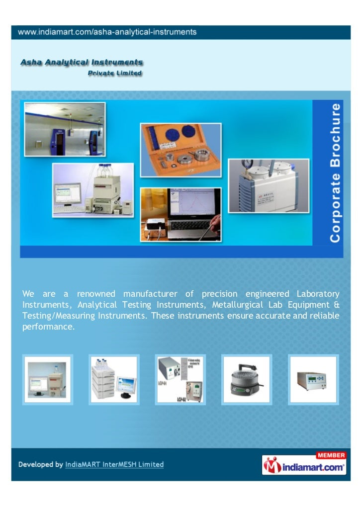We are a renowned manufacturer of precision engineered LaboratoryInstruments, Analytical Testing Instruments, Metallurgica...